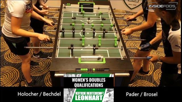 Holocher/Bechtel vs. Pader/Brose | Wo...
