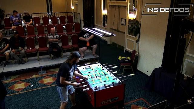 Tony Spredeman vs. Vu Cao   Open Singles