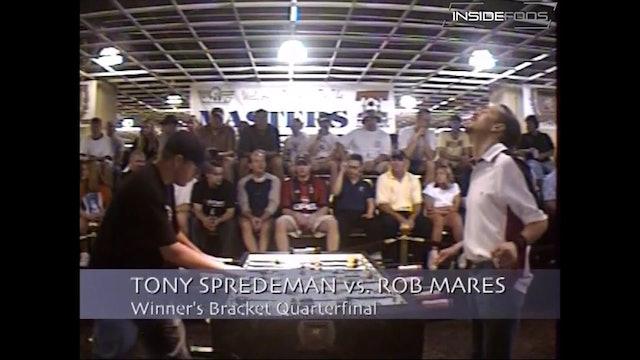 Rob Mares vs. Tony Spredeman | Open Singles