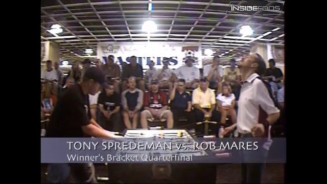 Rob Mares vs. Tony Spredeman | Open S...