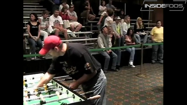 Tracy McMillin vs. Bob Diaz | Championship Singles Loser's Bracket For 3rd