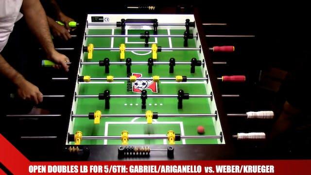 Gabriel/Ariganello vs. Weber/Krueger ...