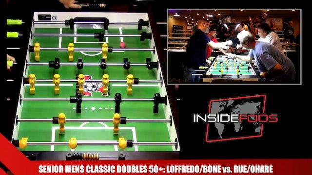 Rue/O'Hare vs. Loffredo/Bone | Senior Mens Classic Doubles 50+