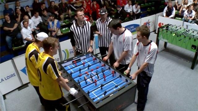 2012 ITSF Men's Doubles Final   Collignon/Van Der Cauter vs. Atha/Hamilton