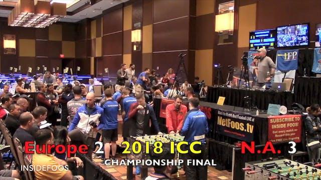 North America vs. Europe - Championsh...