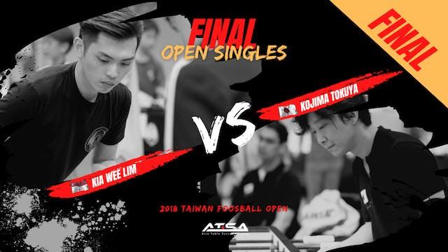 [Kia Wee Lim]vs[Kojima Tokuya] | OS-F...