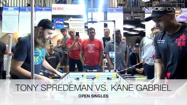Tony Spredeman vs. Kane Gabriel | Ope...