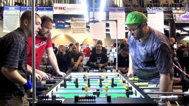 Billy Pappas/Warren Vanlandingham vs. Robert Hays/Justin Shaw | Open Doubles