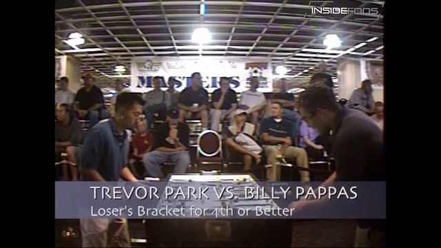 Billy Pappas vs. Trevor Park | Open Singles