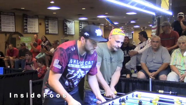 Ryan Moore/Bob Diaz vs. Trevor Park/Steve Beine   Open Doubles Semifinal