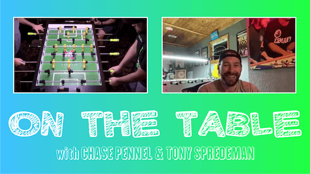 Watch On the Table with Chase Pennell!