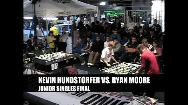 Ryan Moore vs. Kevin Hundstorfer | Junior Singles Final