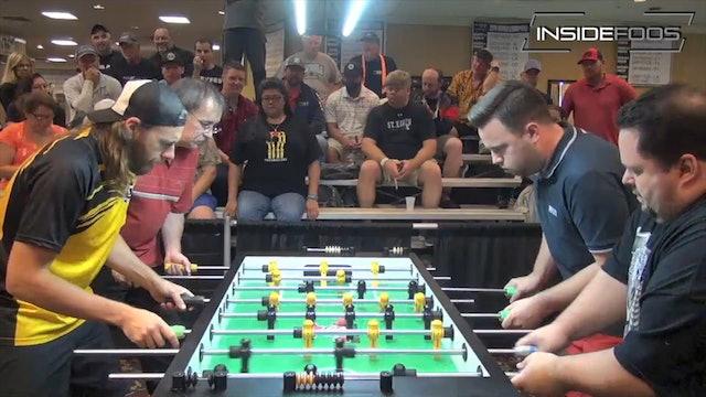 Atha/Adkisson vs. Spredeman/Mehring | Open Doubles Semifinal