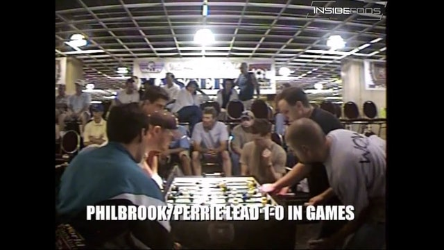 Louis Cartwright/Steve Rogge vs. Mike Philbrook/Gregg Perrie
