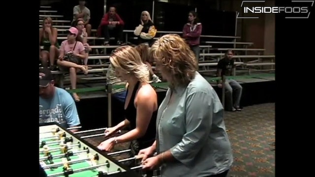 Moya Tielens/Joy Steward vs Cindy Head/Dawn Duquette | Women's Doubles Final