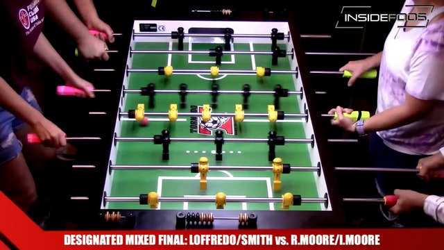 Loffredo/Smith vs. R.Moore/I.Moore | Designated Mixed Final