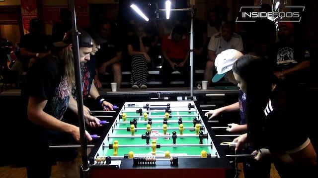 Tony Spredeman/Robert Mares vs Sam DiJohn/Liz Hill-Moore | Open Doubles for 17th