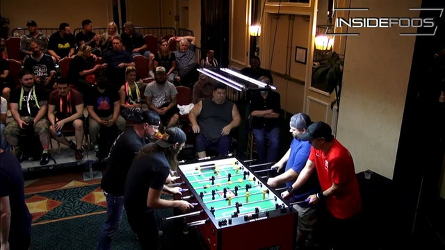 Spredeman/O'Hare vs. Adkisson/Mares   Open Doubles Final Set 1