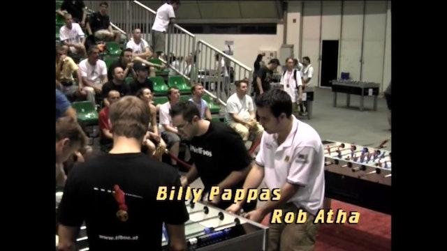 Collignon/Loffredo vs. Atha/Pappas | Open Doubles Final