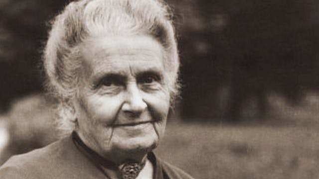 Chapter 2: Maria Montessori