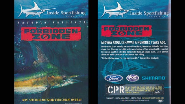 Shark Attack/ Midway Island... The Forbidden Zone  TRT  58:00