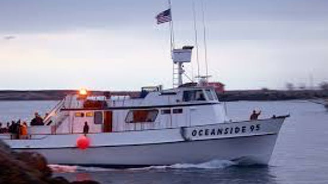 El Niño Bluefin at San Clemente Island on the Oceanside 95 TRT 48:00