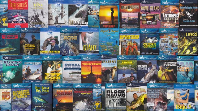 Inside Sportfishing Master Bundle Set -  TRT  3,130:00   [52.1 hours of video]