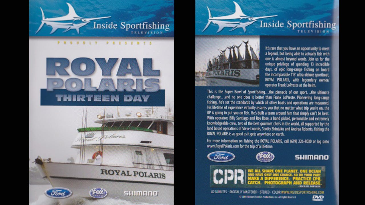 Royal Polaris 13 Day   TRT  82:00