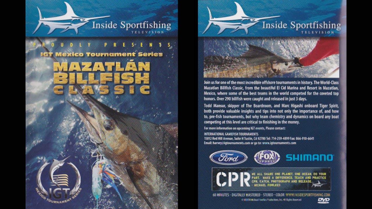 Sailfish Go Off in the Mazatlan BIllfish Classic  TRT  60:00
