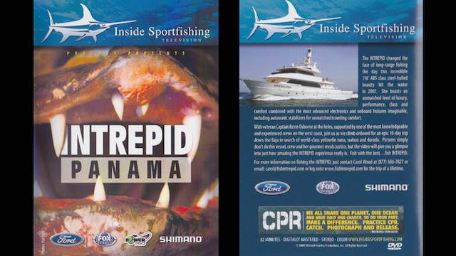 Fishing Panama at it's best onboard the Intrepid    TRT  82:00