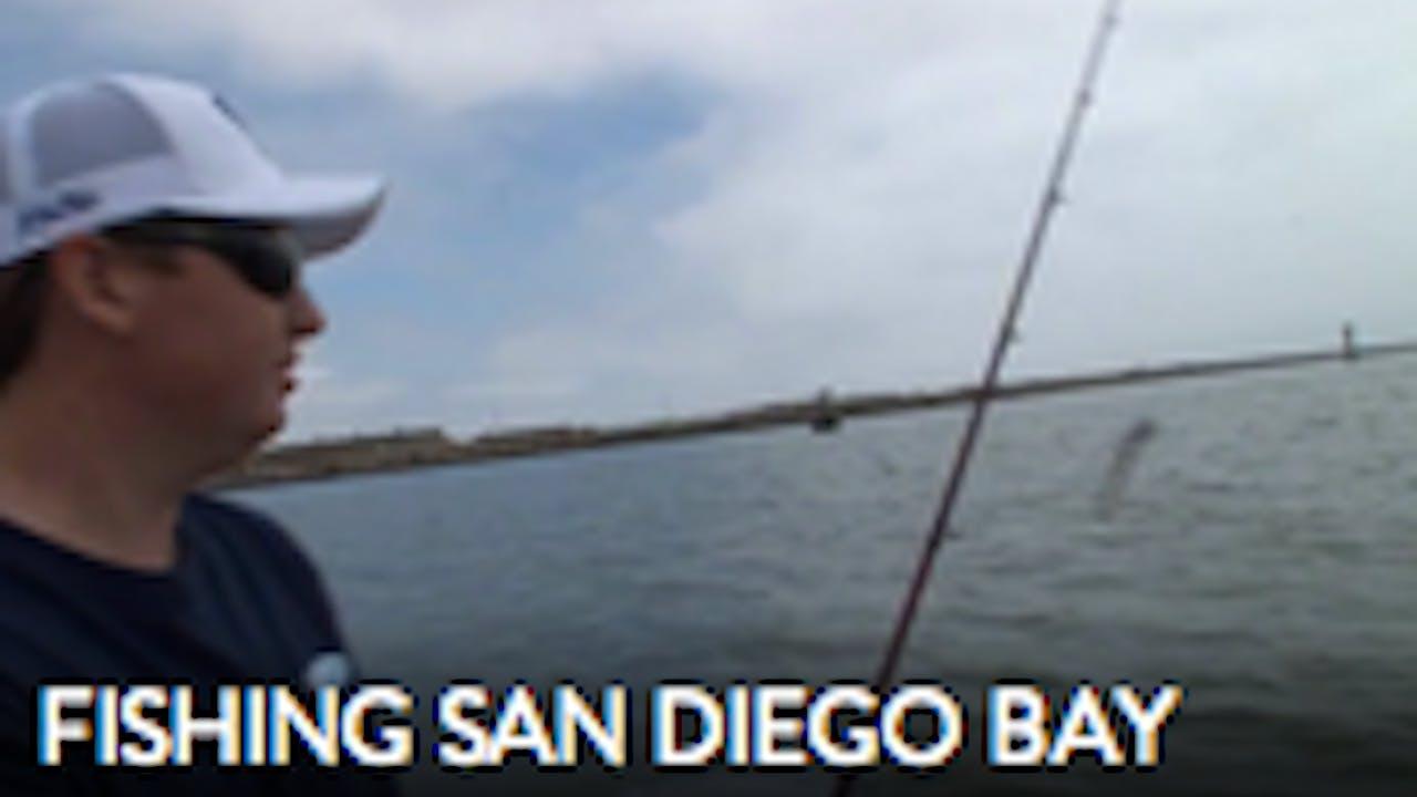 Fishing San DIego Bay   TRT  40:00