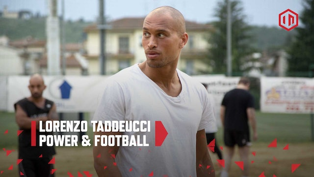 Power & Football: Lorenzo Taddeucci
