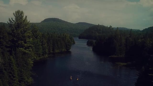 Kayaking in the Laurentian Mountains