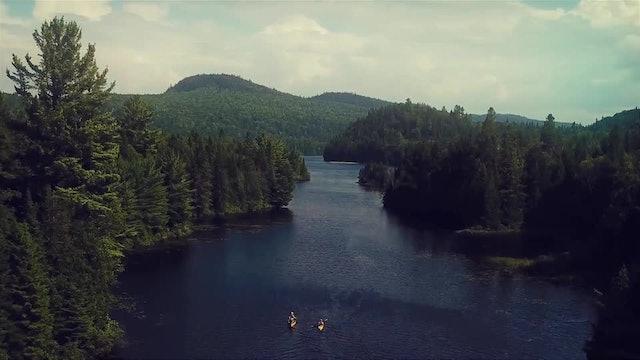 Paddling the Saint Lawrence River