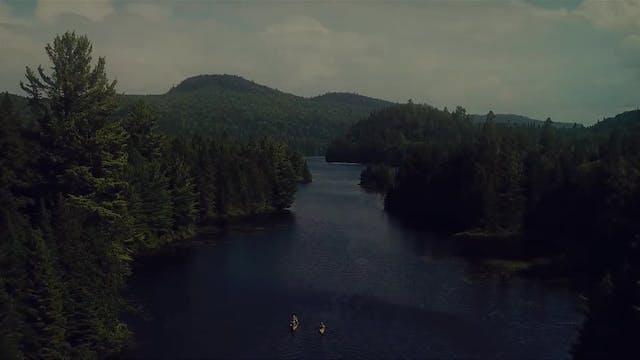 Kayaking in Gaspésie, Québec