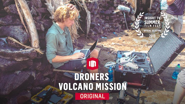 Droners Volcano Mission