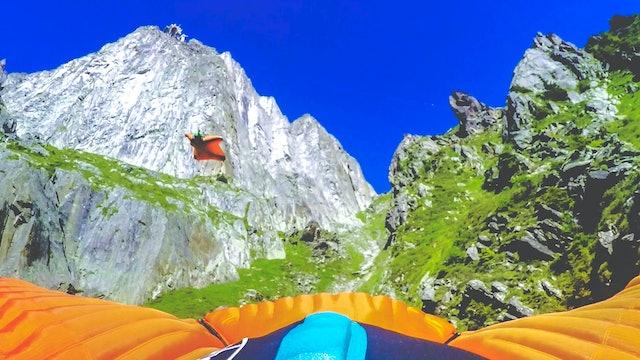 Mont Blanc Heli-Jump