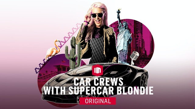 Car Crews with Supercar Blondie Trailer