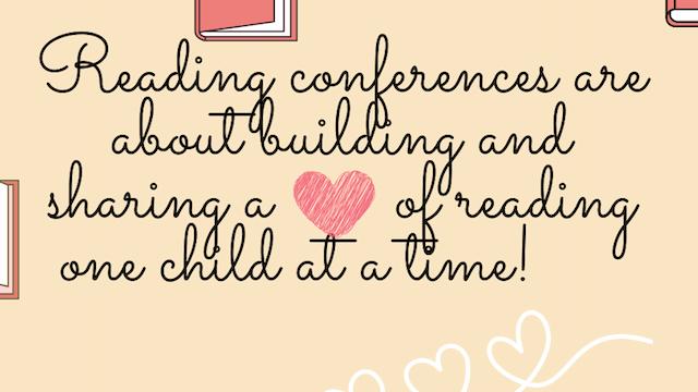 K-2 Reading Conferences