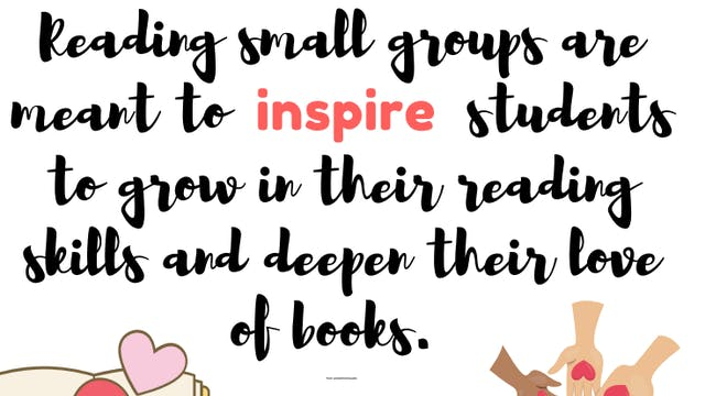 K-2 Reading Small Groups