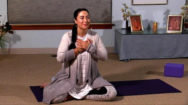 Hatha Yoga - Level 2-3 with Malati Kurashvili - Class 1