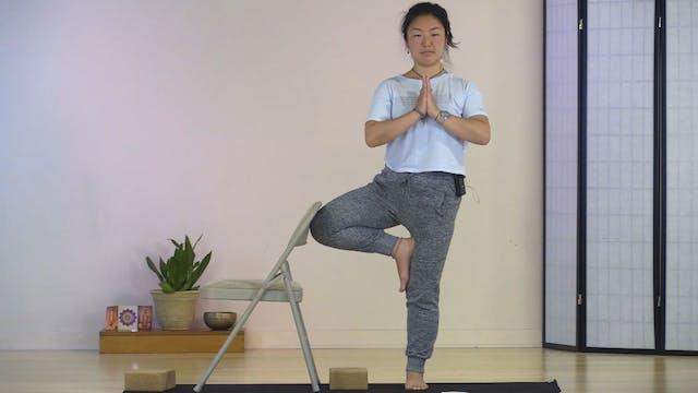 Chair Yoga with Rukmini Ando - Class 3