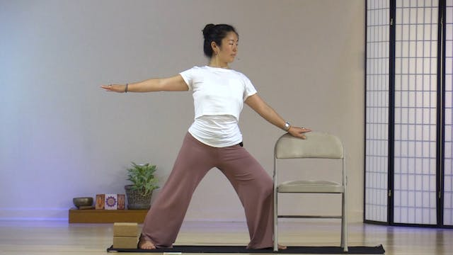 Chair Yoga with Rukmini Ando - Class 4