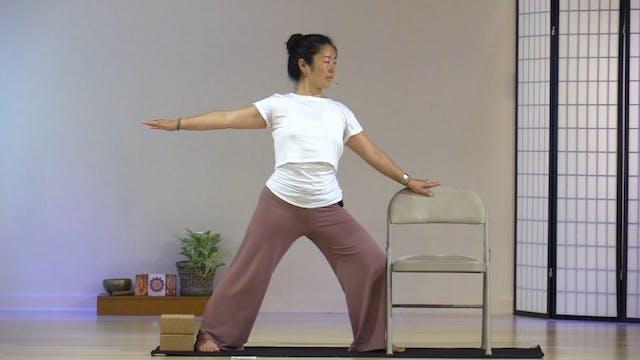Chair Yoga with Rukmini Ando - Class 4