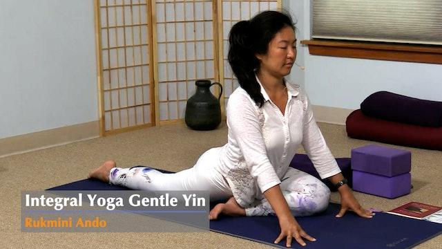 Gentle Yin Yoga with Rukmini Ando - Class 4