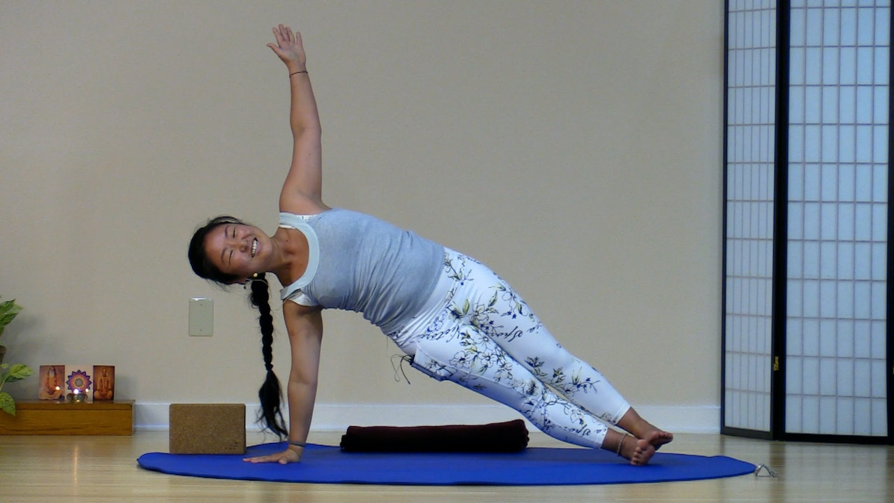 Hatha Yoga with Rukmini Ando