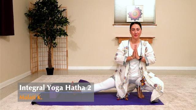 Hatha Yoga - Level 2 with Malati - Class 1