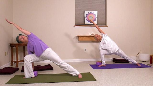 Hatha Yoga - Level 2 with Satya Greenstone - Class 2