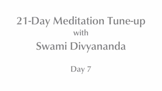 21-Day Mediation Tune-up: Day 7 with ...