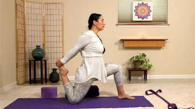 Hatha Yoga - Level 2-3 with Malati Kurashvili - Class 3